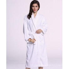 Factory Price Unisex 100% Cotton Terry Hotel Bathrobe Wholesale (WSB-2016032)