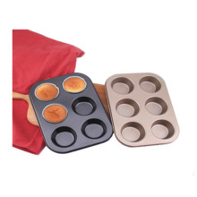 6 filiżanek non stick mini muffin pan cupcake formy
