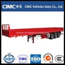 Semirremolque de pared lateral de carga Cimc 3 Axles