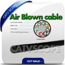 Câble micro fibre optique soufflé à l'air
