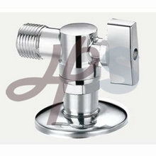 forged brass angle valve nickel plated