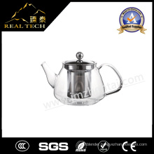 The High Borosilicate Glass Glass Teapot with Handle