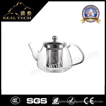 Clear Glass Teapot Transparent Coffee Pot