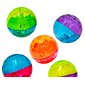 Flashing Two-tone Diamond High Bounce Balls