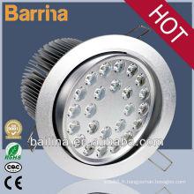 meilleure vente de produits haute qualité 24W encastré LED plafonnier