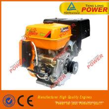 Motor de gasolina do tipo Gasolina 188F eixo