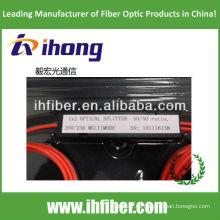 Diámetro grande del multímetro divisor óptico de la fibra óptica 105 / 125um