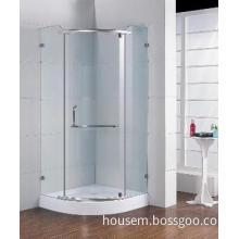 Corner Glass Shower Cabin with one Door