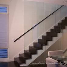 Preço reto interno do passo da escadaria da madeira contínua do carvalho