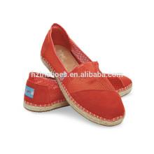 2016 Привлекательный ручной обуви подошвы завод espadrilles
