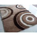 A telha do tapete com fios de estiramento e 3D Feel Seda