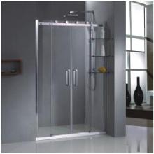 Tempered Glass Bathroom Door