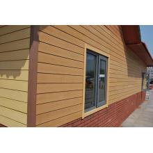 Panel de pared exterior compuesto plástico de madera / panel de pared exterior / revestimiento de WPC