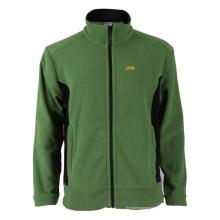 100% полиэстер, зеленая флисовая куртка
