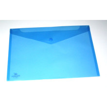 Colored Clear PP File Bag (NO. PPB-019)