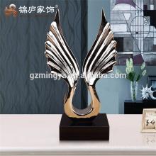 Escultura de mesa grande polyresin casa decoración pieza estatua decorativa interior