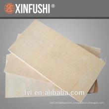 Madera contrachapada de abedul hecha en china usada para muebles