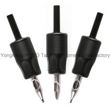 Wholesale Plastic Disposable Tattoo Grips with stainless Steel Tip
