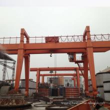 Heavy duty easy lifting aluminum double beam gantry crane portable use