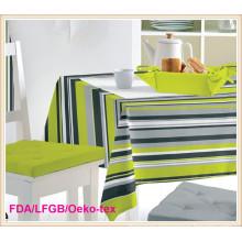 PVC Opaque Transparent Tablecloth (TT0203)
