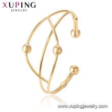 52055 Gros design spécial dames bracelet gracieux bijoux en or