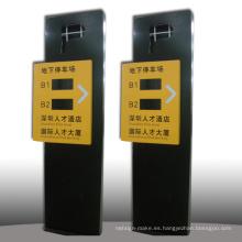 Alta calidad de señalización de directorio de estacionamiento en el camino