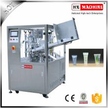 Máquina de llenado y sellado de tubos plásticos de inducción automática