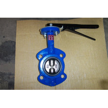Zwei Wellen Wafer Type Butterfly Valve