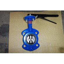 Dua Shaft Wafer Type Butterfly Valve