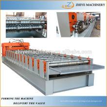 Telhado de aço que dá forma à máquina Proffesional Fabricante Cangzhou