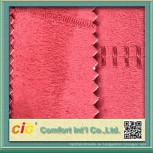 100% Polyester Microfaser Stoffbezug Stuhl Microfaser