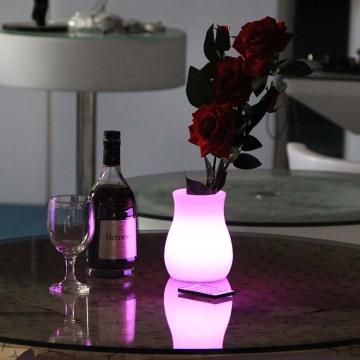 Decorative LED Flower Pot for Hotel Decor