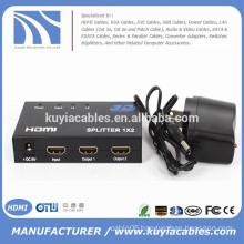 High Quality HDMI Splitter 1x2 HDMI Splitter support 3D