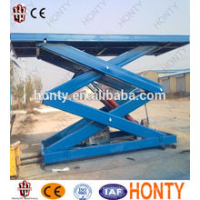 CE cheap stationary used scissor lift 2 ton jinan