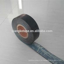 Cinta de goma del abrigo del tubo de goma del butilo del anticorrosión del PE para la capa aplicada en frío de la tubería de acero