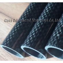 alta qualidade personalizar tubo de fibra de carbono / tubo / pólo / eixo Skype: zhuww1025 / WhatsApp (Mobile): + 86-18610239182