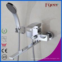 Fyeer Long Spout Baño Mezclador de grifos de baño y ducha
