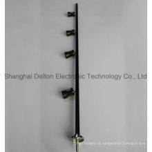 Preto flexível personalizado luz LED gabinete gabinete (dt-zbd-001)