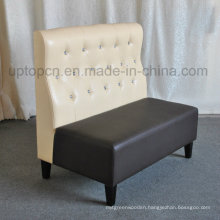 Double Color Bar Booth Sofa for Night Club (SP-KS296)