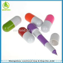 Cheapest personalized fat and short ballpoint pen with telescopic function
