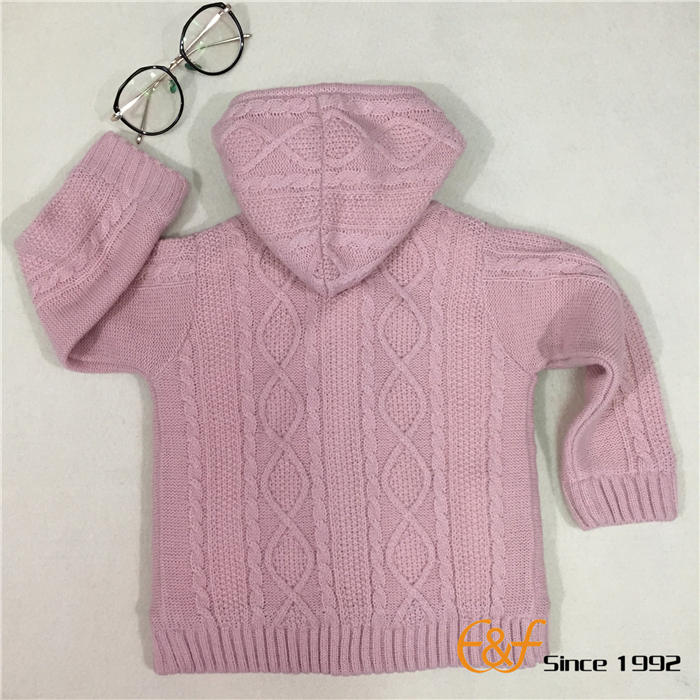 Coral Fleece Sweater for Girls