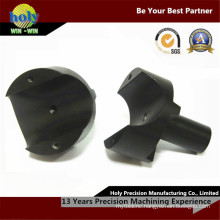CNC Manufacturer Machined Parts 6063 Black Anodized CNC Aluminum Parts