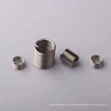 Inserto de rosca helicoidal de alambre metálico M2 ~ M60