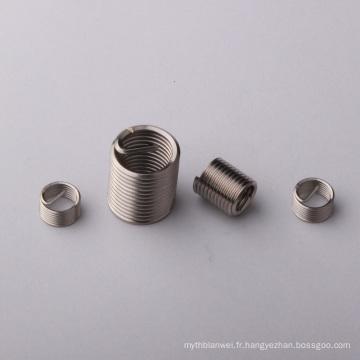 m2-m96 Fastener Inserts filetés en acier inoxydable
