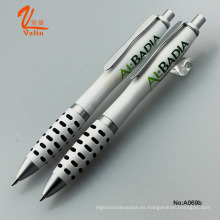 Bolígrafo blanco promocional con logotipo impreso