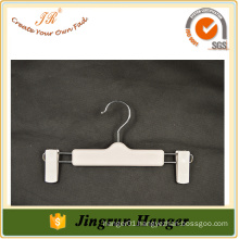 Widely Used White Plastic Jeans Hanger Quality Men Pants Hanger