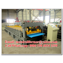 Corrugated Cold Roll Forming Equipment / Roll Forming Line 7.5KW