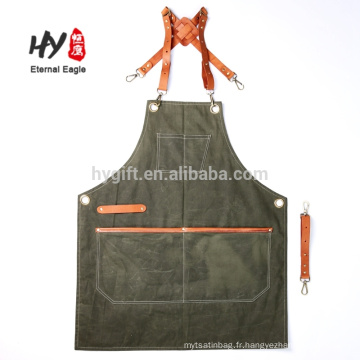 New product waxed canvas tool apron for men