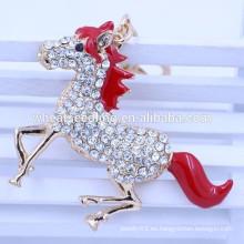 Regalos de publicidad caballo forma keyring keychain fabricantes en china