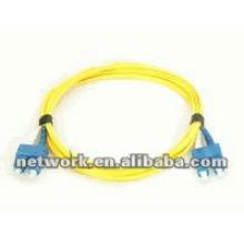 SC-SC Cable de conexión de fibra óptica dúplex de un solo modo 1 metro